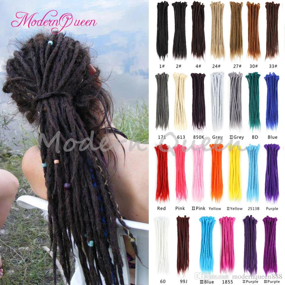 2019 Synthetic Dreadlocks Hair Crochet Braids Marley Braid Locks