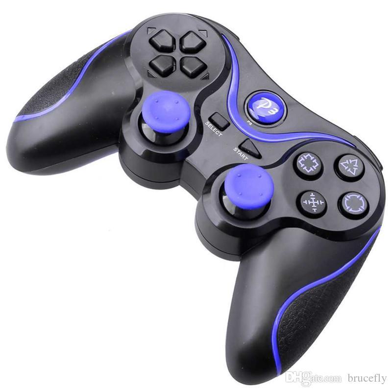 Alta Qualidade Sem Fio PS3 360 Bluetooth 3.0 Gamepad Controle Remoto Controlador de Jogo Joystick Para PC Android Smartphone