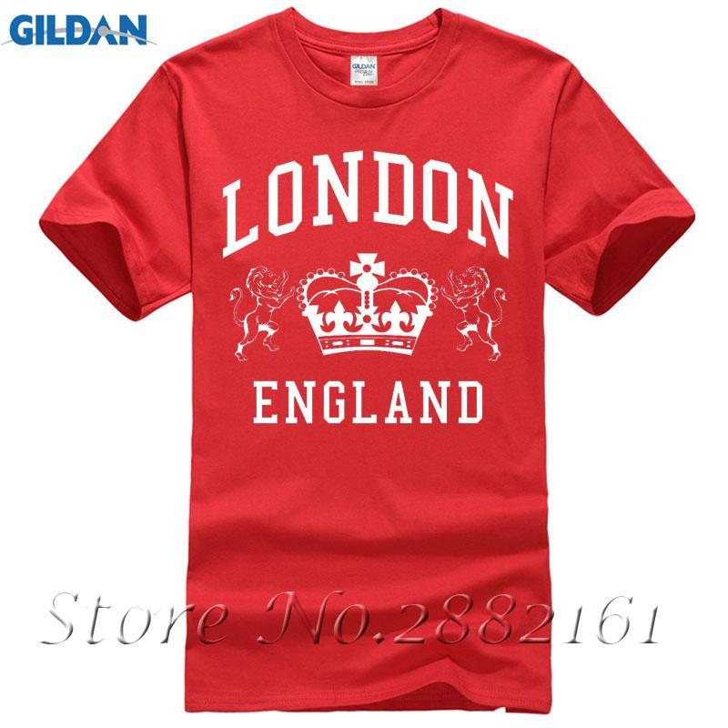 Compre Londres Inglaterra Camiseta Royal Vintage Novidade Lembrança  Presente De Aniversário Das Mulheres Dos Homens De Impressão T Camisas  Homem T Shirt De ... 8d83a7ca60f1e