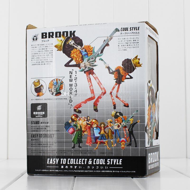 منتديات اليابانية قطعة واحدة بروك بعد عامين قطعة واحدة بروك PVC عمل الشكل النموذجي لعبة تجميع للأطفال هدية 18CM