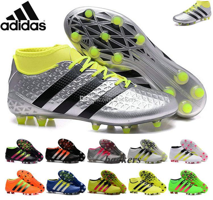 Online Cheap Adidas Ace 2016 Etch Pack Fg Boots Soccer Cleats Shoes Cheap  Original Performance Mens Football Outdoor Sports Men Knit Indoor Cheap By  Backers ...