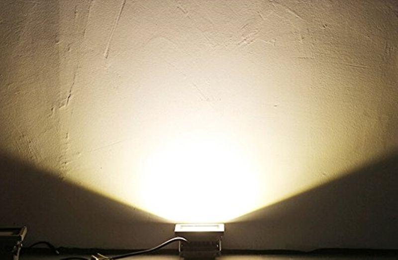 10 Вт Вт привело теплый белый наводнение пятно света Открытый сад пейзаж лампы лампы прожектор безопасности прожектор Главная водонепроницаемый высокой мощности 85-265 в