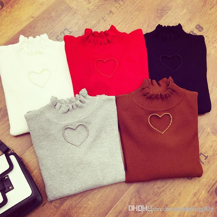 New Fashion Personality Women s Sexy Love Heart Hollow out Cutout ... 8691c3fe3b1e