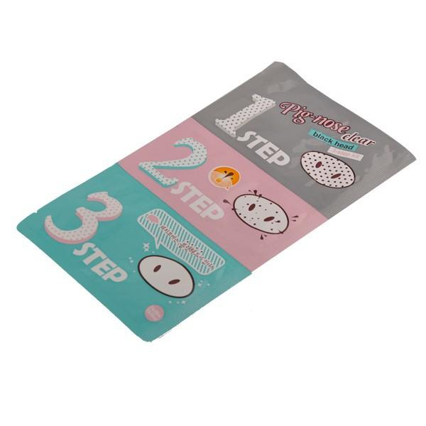 Holika Holika Pig Nose Cleaning Strips Blackhead Remover 3 Step Kit Korean Cosmetics Face Nose Treatment and Mask