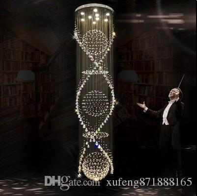 treppe in minimalistischem stil bilder, großhandel die treppe lange kronleuchter kronleuchter kristall, Design ideen