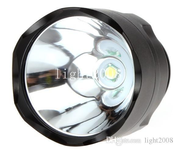UltraFire C8 CREE T6 LED Taschenlampe 1-Mode 1300 Lumen Taschenlampe + Remote Druckschalter + Clip + Ladegerät Kostenloser Versand