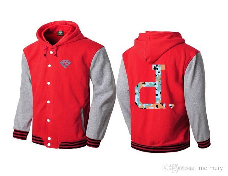 S-5xl 5582 Yeni Dikiş deri kollu Hoodies Erkekler Lüks Marka ile Elmas Tedarik Marka Kazak ceket