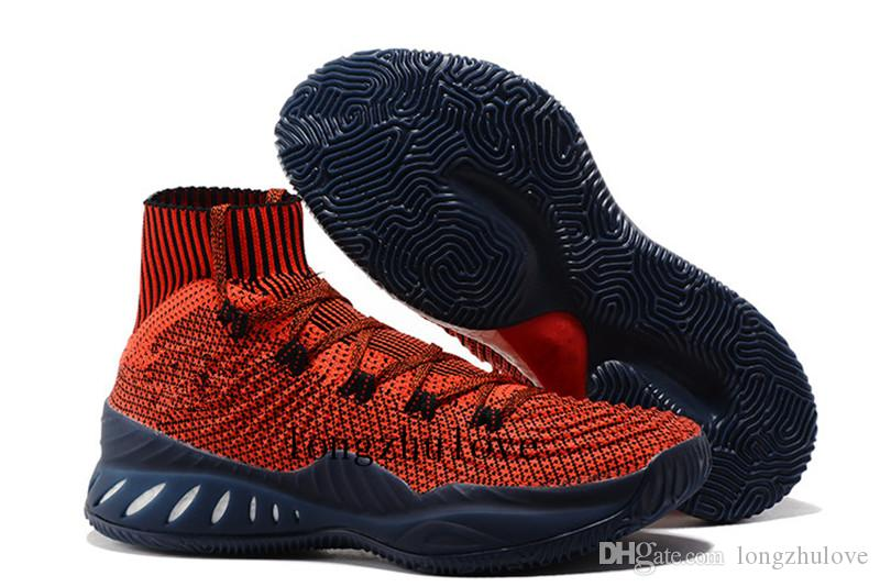Crazy Explosive 2017 Primeknit Red/Black Deep Blue Basketball Shoes Air Crazy  Explosive Boost Men Shoes New Arrival Wiggins John J Wall 3 Cheap Shoes For  ...