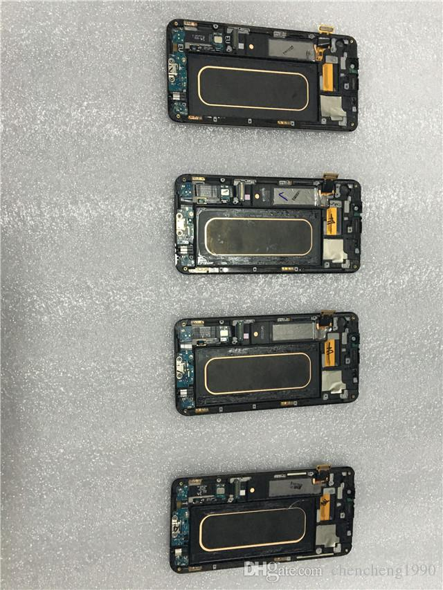 100% Test New LCD Touch Screen Digitizer With Frame Replacement for Samsung Galaxy S6 Edge Plus G9280 G928F G928V G928A