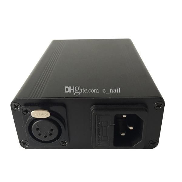 GR2 티타늄과 전자 네일 키트를 포장 양장본 알루미늄 상자 / 석영 하이브리드 네일 맞는 평면의 10mm / 16mm / 20mm 히터 코일 DHL 무료