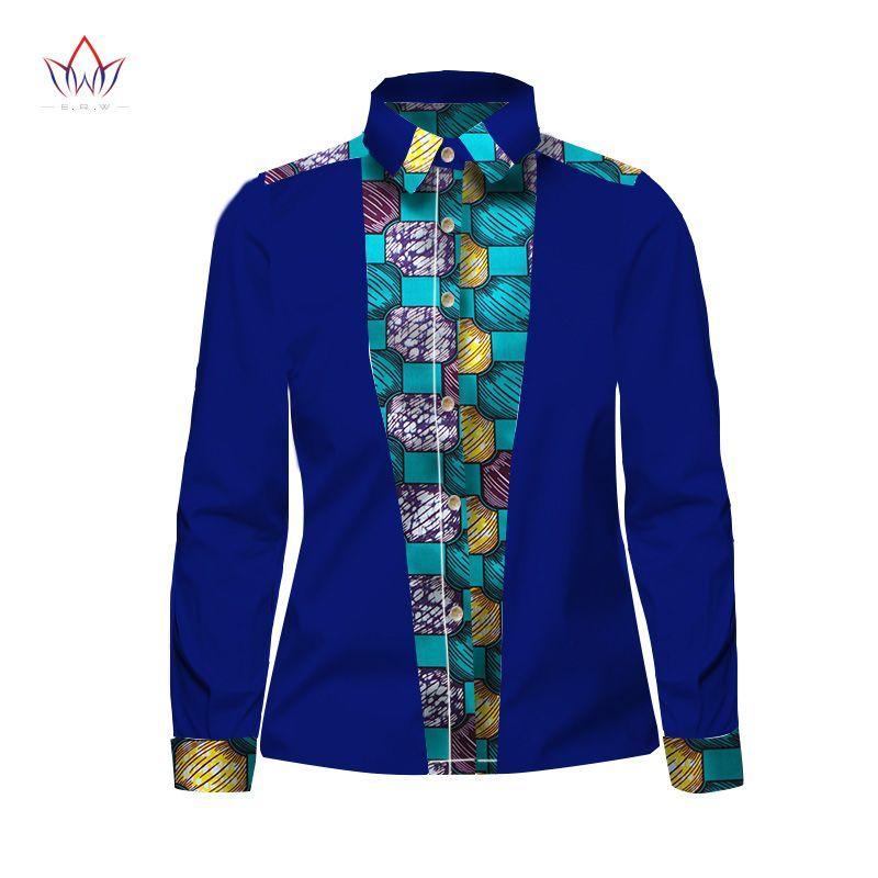 006bf2fe0b34 Großhandel Großhandels 2017 Frühling New Fashion Design Shirt Männer Langarm  Slim Fit Herren Dashiki African Print Casual Style Männer Shirts 6XL BRW  WYN300 ...