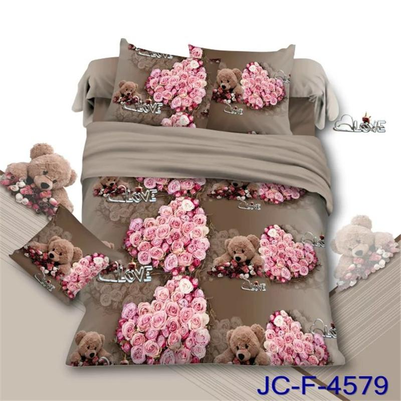 Have A Good Night 2016 New Product 3d Bedding Set Queen Size Peacock