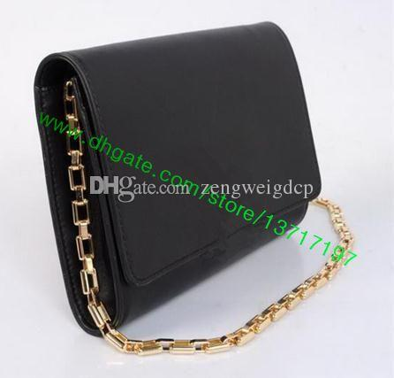 a603ad4bd55 Top Grade Smooth Calf Leather Lady Metal Chain Clutch Handbag CHAIN LOUIISE  M94335 M41279 M41280 Women Shoulder Bag Chain Clutch Bag Women Leather Bag  ...