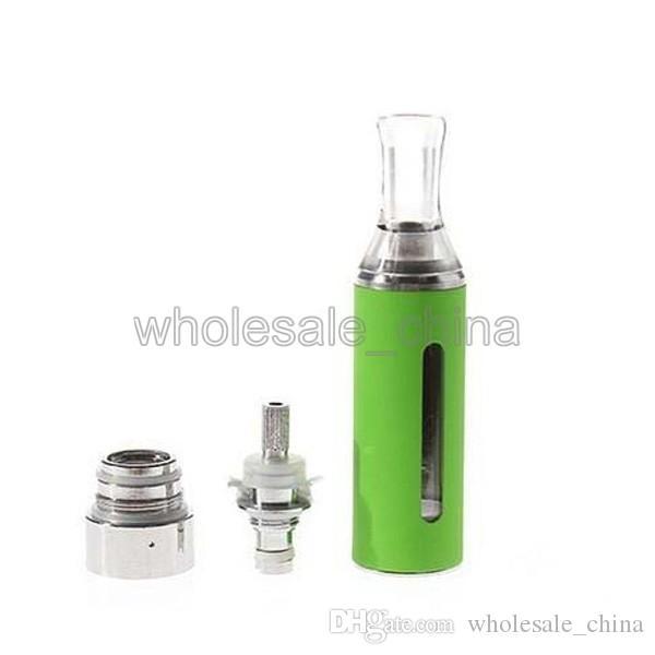 Atomizzatori EVod BCC MT3 Ego Adatto Ego Clearomizer Atomizzatore sostituibile Sigaretta elettronica Multi-color 2.4 ml Atomizzatore DHL libero