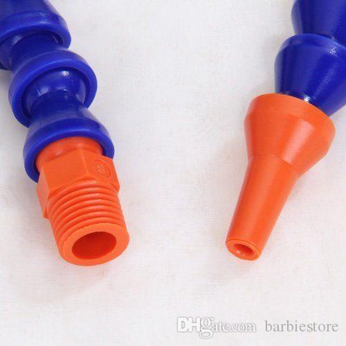 Bec rond B00037 de barre de tuyau de liquide de refroidissement réglable flexible en plastique d'huile de plastique de 300mm
