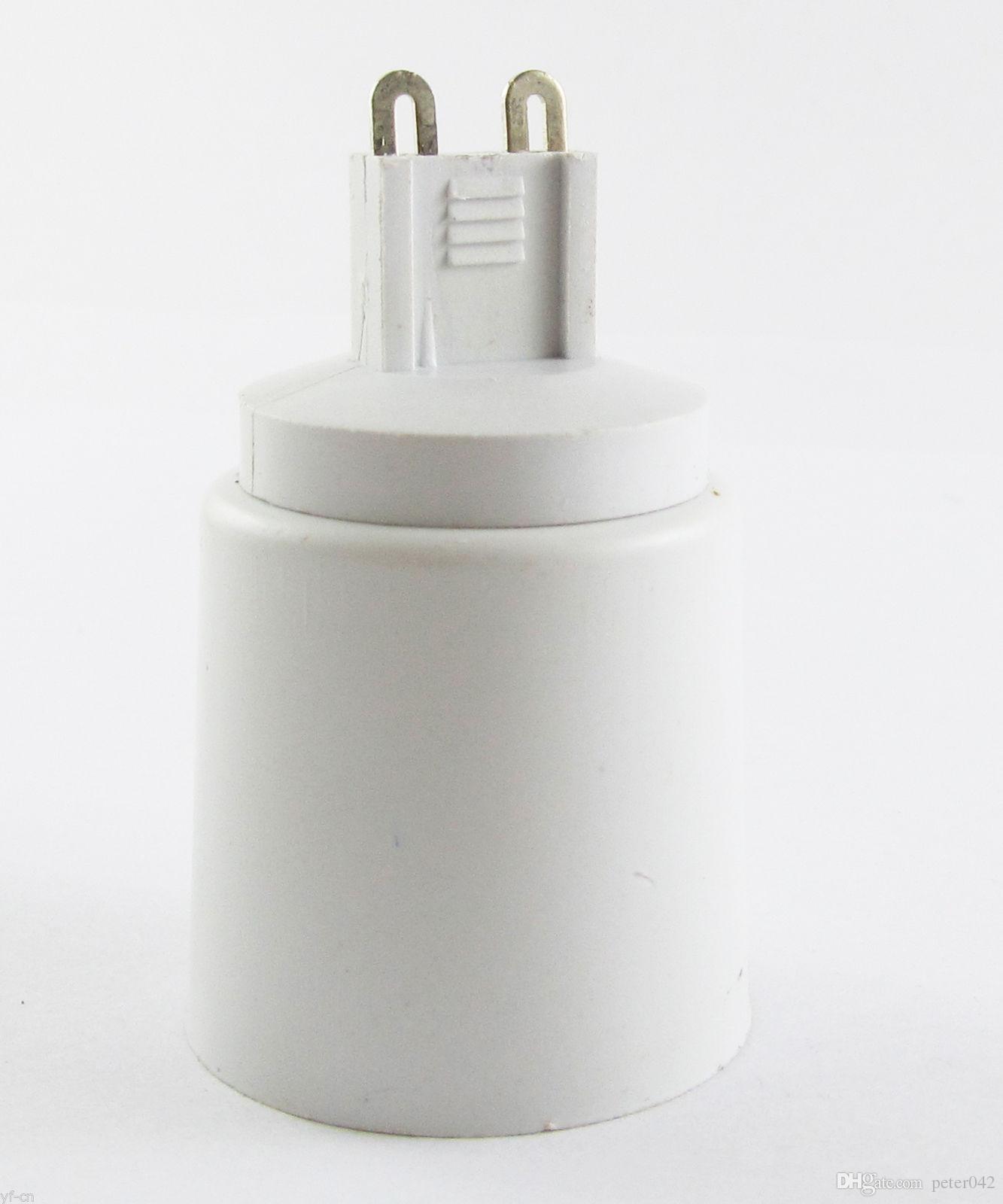 G9 ذكر إلى E27 أنثى المقبس قاعدة الصمام الهالوجين CFL ضوء لمبة مصباح محول