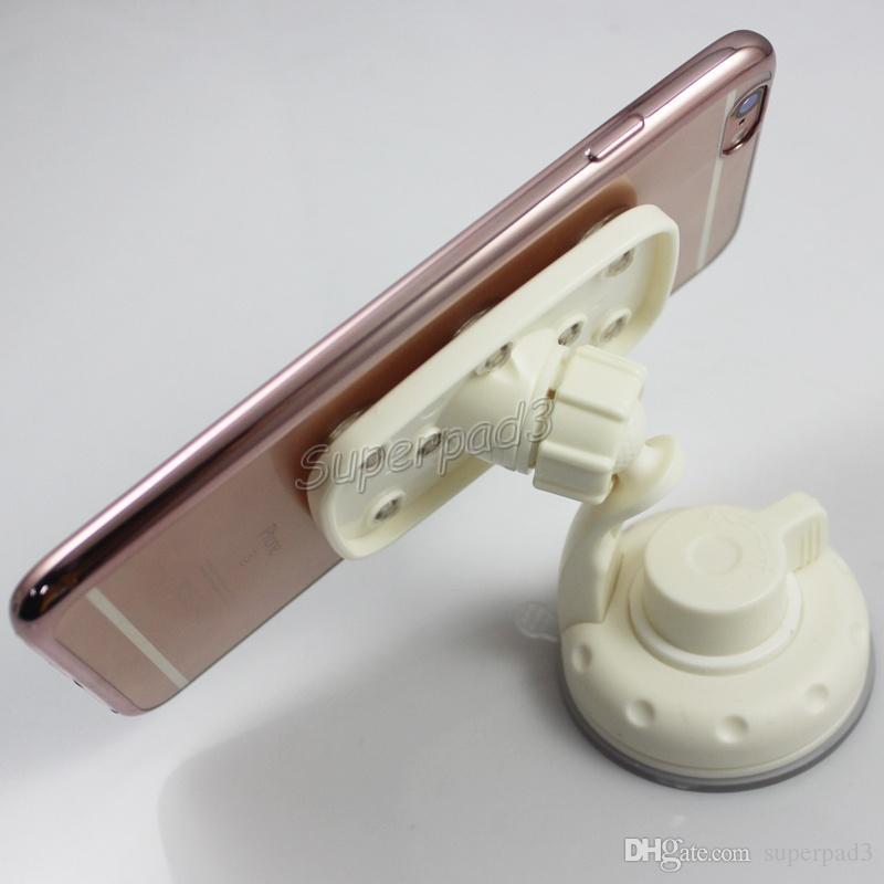 Acessórios do telefone móvel Suportes de otário de múltiplos propósitos para o telefone móvel gps pda psp mp3 mp4 tablet pc Universal de 360 graus de giro do carro titular