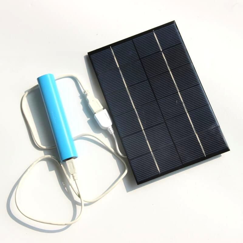 Wholesale 4.2W 6V Solar Charger For Power Bank Solar Cell Polycrystalline Solar Panel Charger 130*200MM
