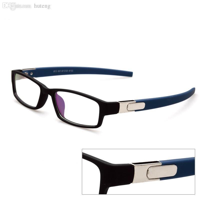 4314fd7cc10 2019 Wholesale Fashion Men Women Square Prescription Eyeglasses Frame  Myopia Optical Computer Eye Glasses Frame Brand Designer Oculos De Grau  From Hdqstore