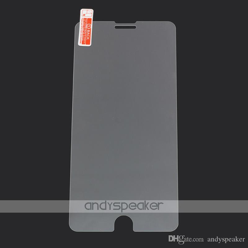 Para iPhone X Vidrio Templado para iPhone Samsung Protector de Pantalla Frontal Película 0.26MM 2.5D 9H Sin Paquete /