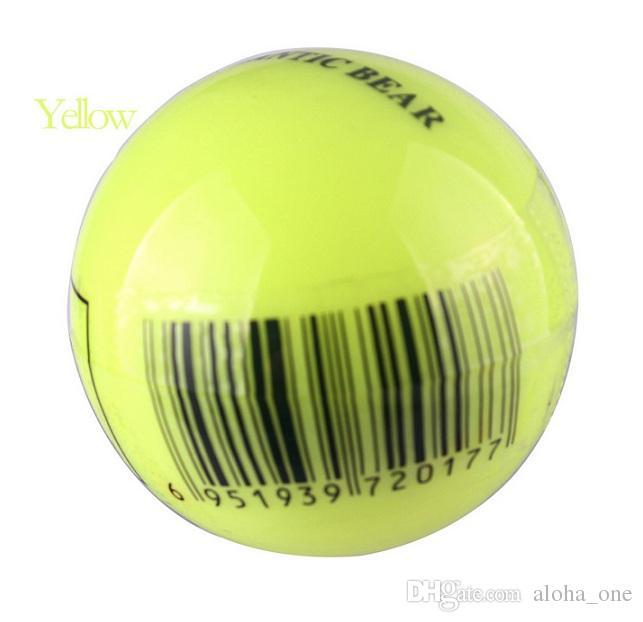 3D Lippenstift New Makeup Round Ball Feuchtigkeitsspendender Lippenbalsam Natural Plant Sphere lip Pomade Lippenbalsam Fruit Embellish lip Care