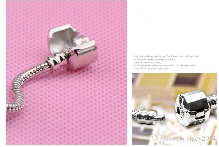 DIY European Style 925 Silber Kristall Bettelarmband für Frauen Mit Blauen Murano Glasperlen DIY Schmuck