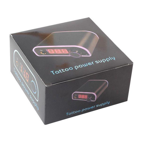 Fonte de alimentação profissional da tatuagem da caixa do poder da tatuagem de Digitas mini para a máquina da tatuagem