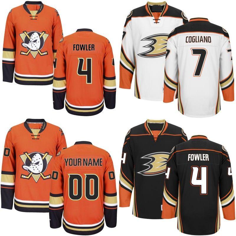 1ed3e6e70 Youth Anaheim Ducks Jersey 1 Reto Berra 4 Cam Fowler 7 Andrew Cogliano 15  Ryan Getzlaf 36 John Gibson 47 Hampus Lindholm Jerseys UK 2019 From  Projerseysword ...