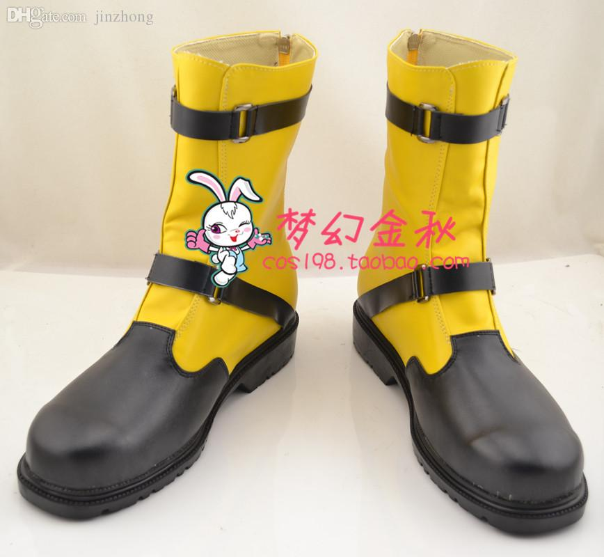 2018 Wholesale Final Fantasy Ffx 2 Shuyin Cosplay Boots Shoes Shoe Boot Nc811 Halloween Christmas From Jinzhong 8579