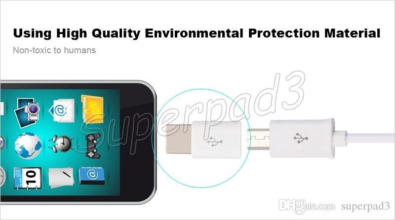 Mini Micro USB Hembra a Tipo-c Adaptador de Cable Macho Samsung Note 7 Mackbook Cargador de Sincronización de Datos de Carga Para Tabletas de Teléfono Tipo C