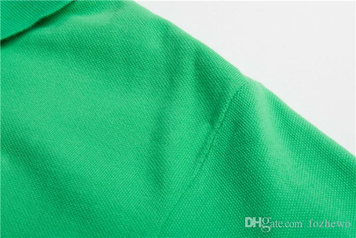 Вышивка 3 Мужская Бренд Polo Brand USA футболка Летняя футболка с коротким рукавом TSHirt Marque Luxe Homme Franch Men Costume Одежда S-XXL Plus Размер