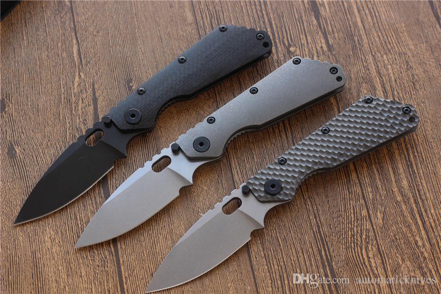 Miker التكتيكية الطي سكين d2 بليد 60hrc ألياف الكربون التيتانيوم أدوات التخييم سكين edc بقاء هدية عيد الصيد السكاكين