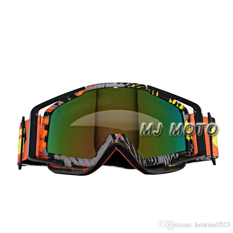 2016 New gafas Motocross Goggles Motorcycle Glasses Cycling Outdoor Off Road Moto GP Motorcross Motorbike Bike for helmet