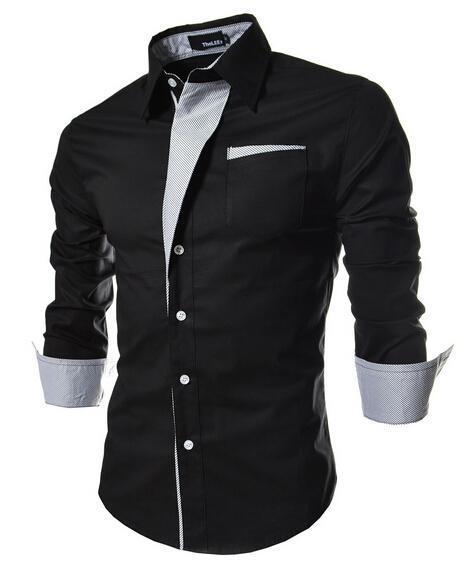 2017 Large Size Men Shirt Nice New Brand Mens Dress Shirts MenvS ...