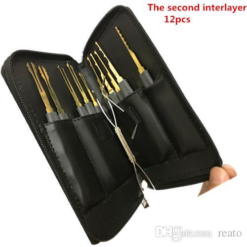 Hot sale Goso Single Hook Lock Pick Tension Wrench Training Tool Set Locksmith Practice Tools Kit