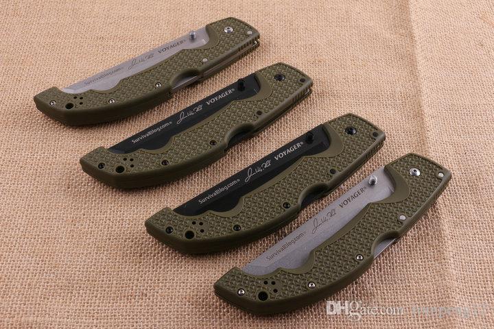 transporte livre aço frio COLD HNA faca dobrável 10 modles ao ar livre sobrevivência acampar caça faca faca dobrável