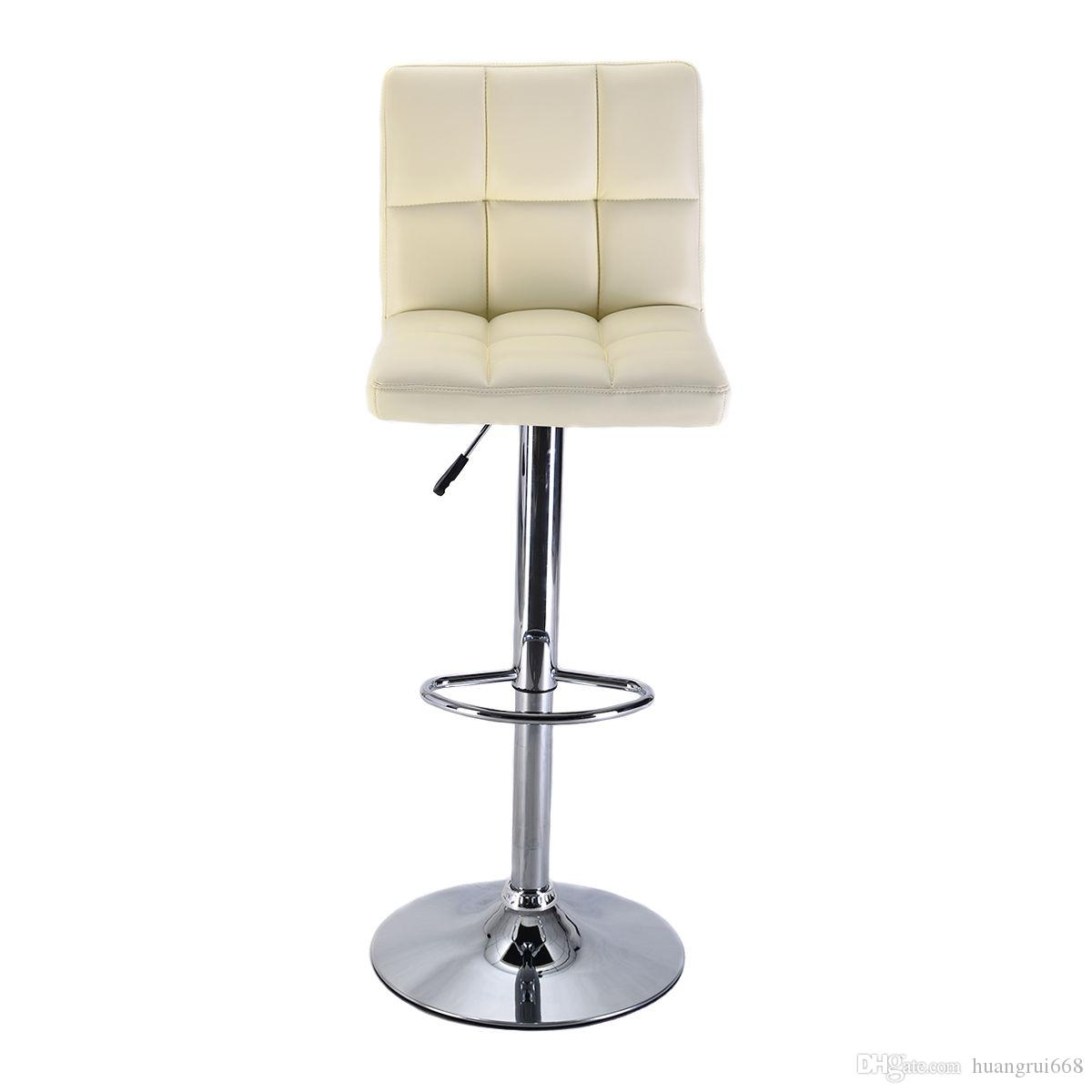 Superbe Online Cheap Bar Stool Pu Leather Barstools Chair Adjustable Counter Swivel  Pub By Huangrui668 | Dhgate.Com