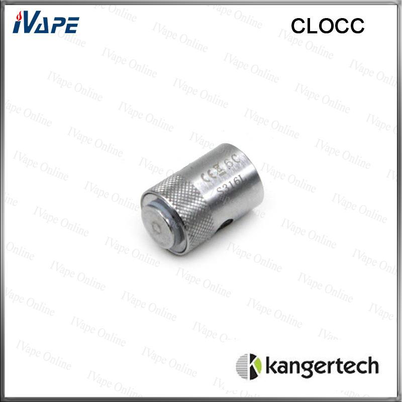 100% Original Kanger CLOCC Spulenköpfe Ni200 0,15 Ohm SS316L 0,5 Ohm Verfügbare Kangertech CLOCC Ersatzspulen für Kanger CLTANK Zerstäuber