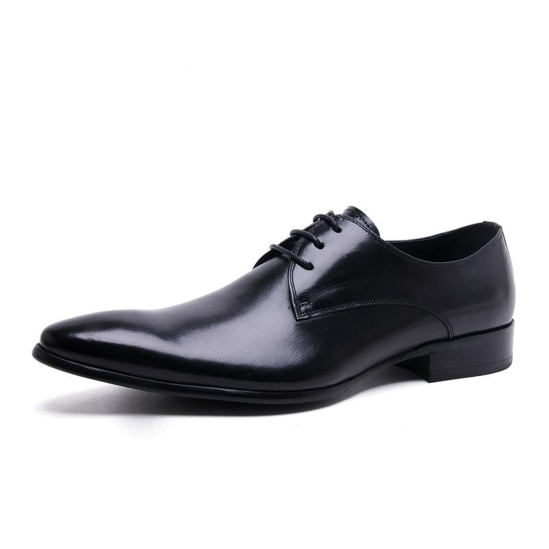 competitive price d7210 e6a67 Scarpe Classiche Eleganti Cerimonia Paillettes Nero Men's Dress Shoes