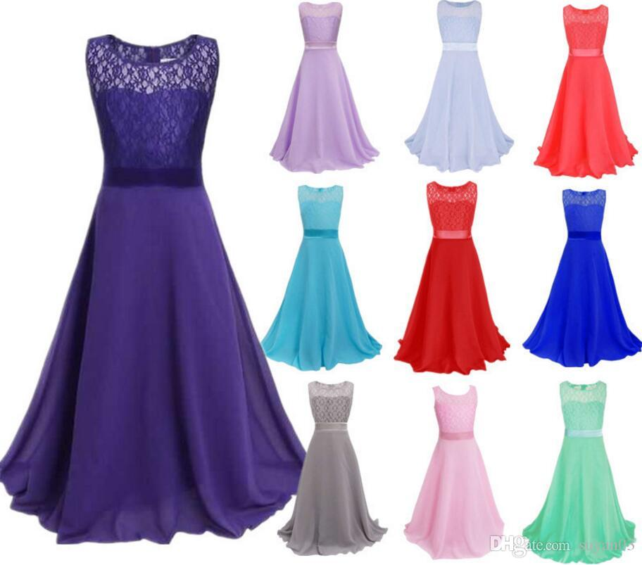 6 15 Year Girls Dresses For Christmas Party Baby Girls Layered ...