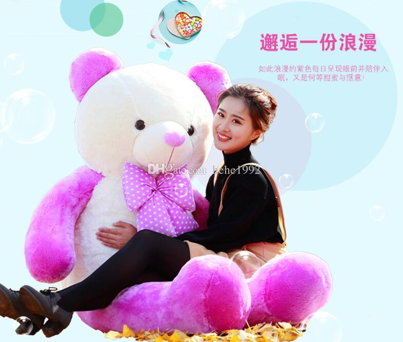 Baby Bear plush toy doll cute oversized doll girls Teddy Bear Children's Day gift