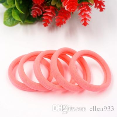 Children seamless Towel ring High Elastic Hair Bands Rubber band gum Hair Rope hair accessories for Girls