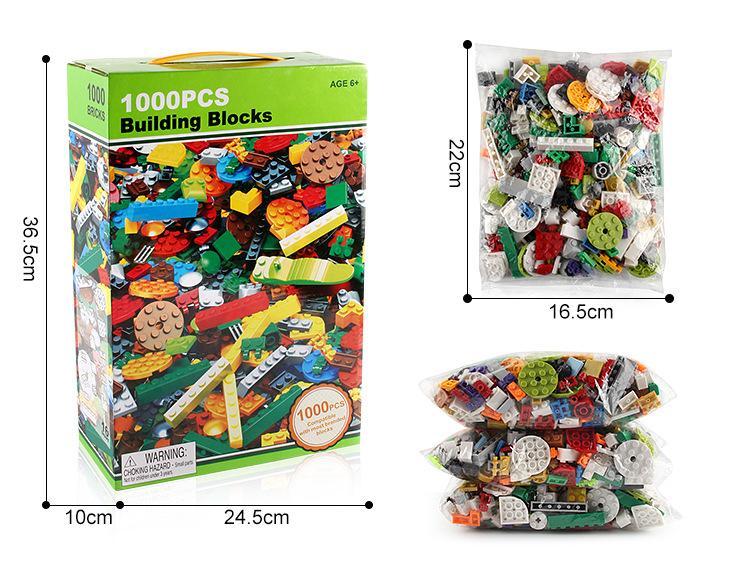 Blocos de construção de brinquedos diy granel tijolos 10 cores misto lifter para crianças tijolos de construção tijolos blocos de construção presentes