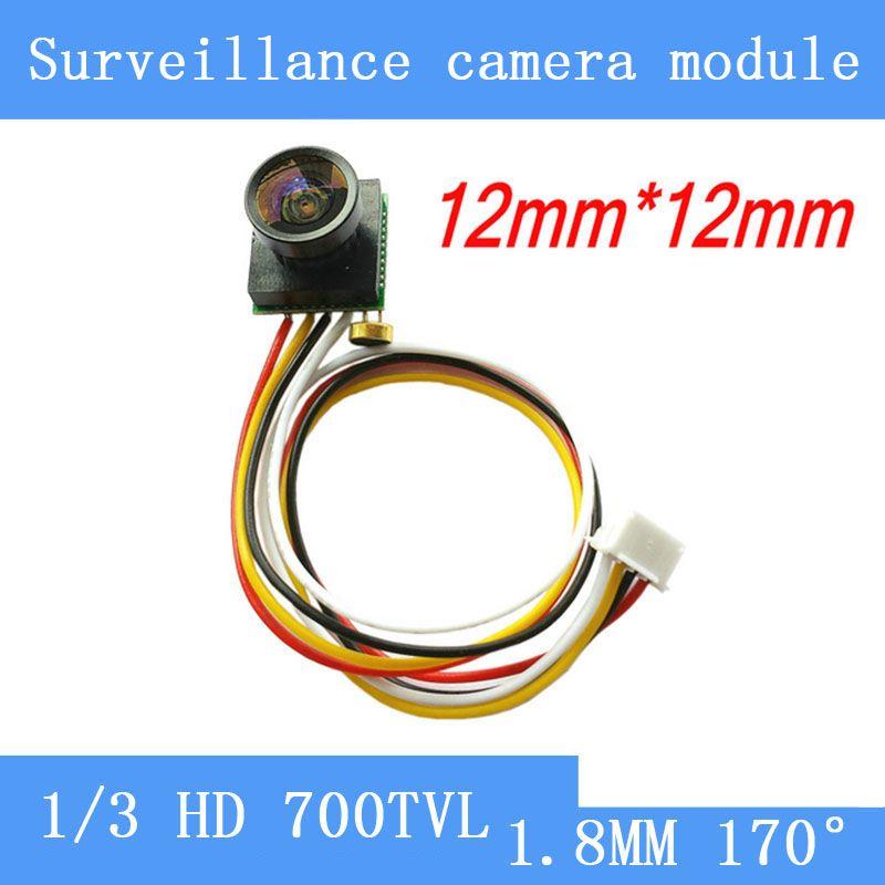Câmera de vigilância em miniatura 5MP HD 700TVL 170 graus wide-angle camera FPV modelo de aeronave, brinquedos, segurança em casa câmera pinhole