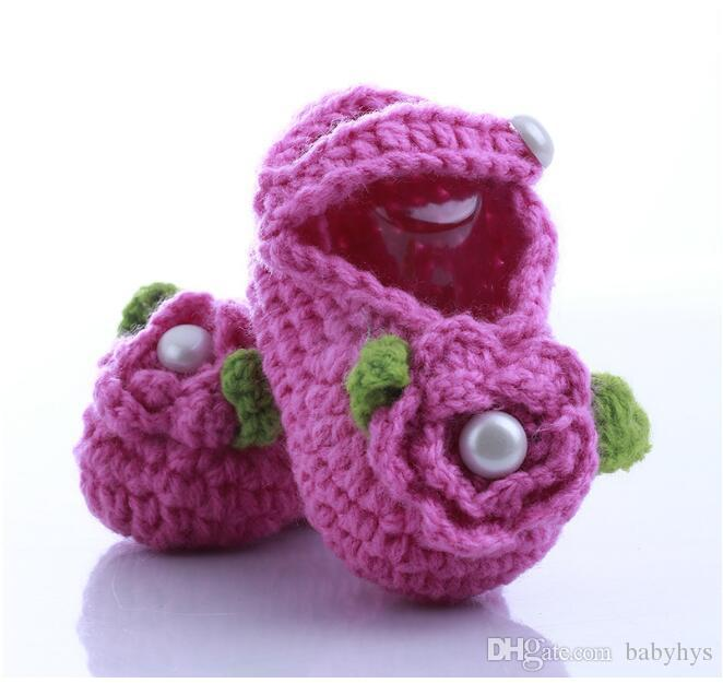 custom your logo baby handmade flower shoes lovely flower girls and boy size 11cm for new born kids shoes