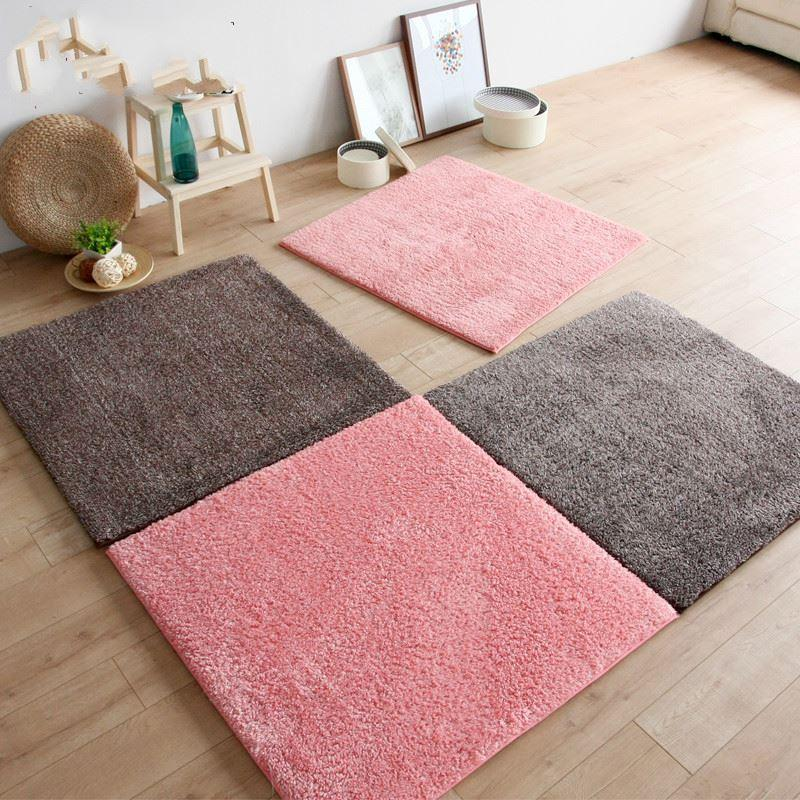 40*40cm Anti Slip Living Room Mat For Table Baby Bedroom Area Rug ...