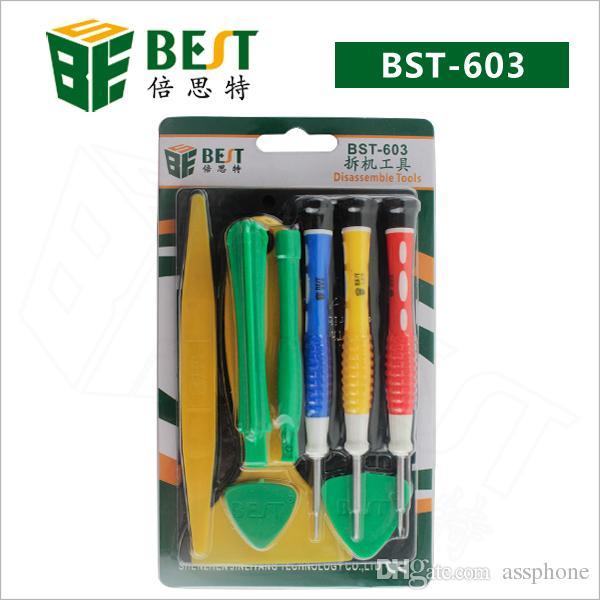 Woderful Quality BEST Repair Tools BST-603 Herramientas de reparación de teléfonos para iphone 4 / 4S, para iphone 5 / 5S con envío gratuito