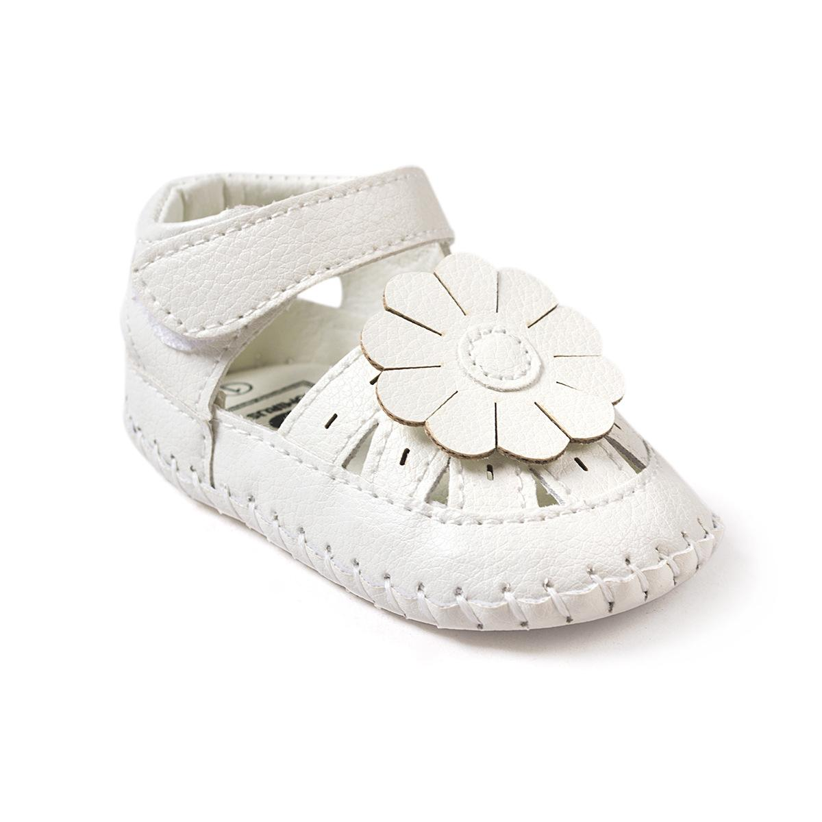 White Flower Toddler Shoes Baby Moccasins Kids Moccs Baby Shoes Kids