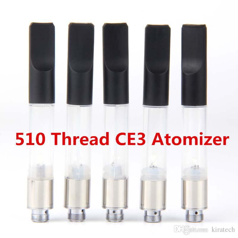 CE3 oil cartrige tank empty vape 510 atomizer vaporizer e cigarettes vapes pen for openvape bud 510 batteries vape china electronics