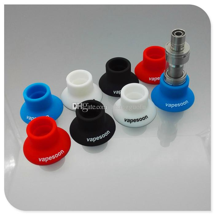 Vapesoon silicone suction cup ego silicone sucker holder fit diameter 19mm-22mm mod kit RDA RBA atomizer DHL free